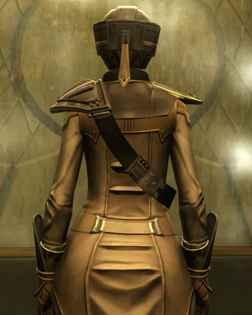 The Final Breath Armor Set Back from Star Wars: The Old Republic.