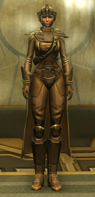 The Final Breath Armor Set Outfit from Star Wars: The Old Republic.