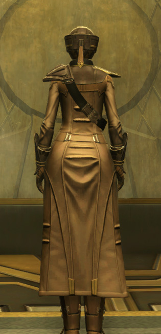 The Final Breath Armor Set player-view from Star Wars: The Old Republic.