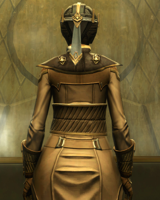 Avenger Armor Set Back from Star Wars: The Old Republic.