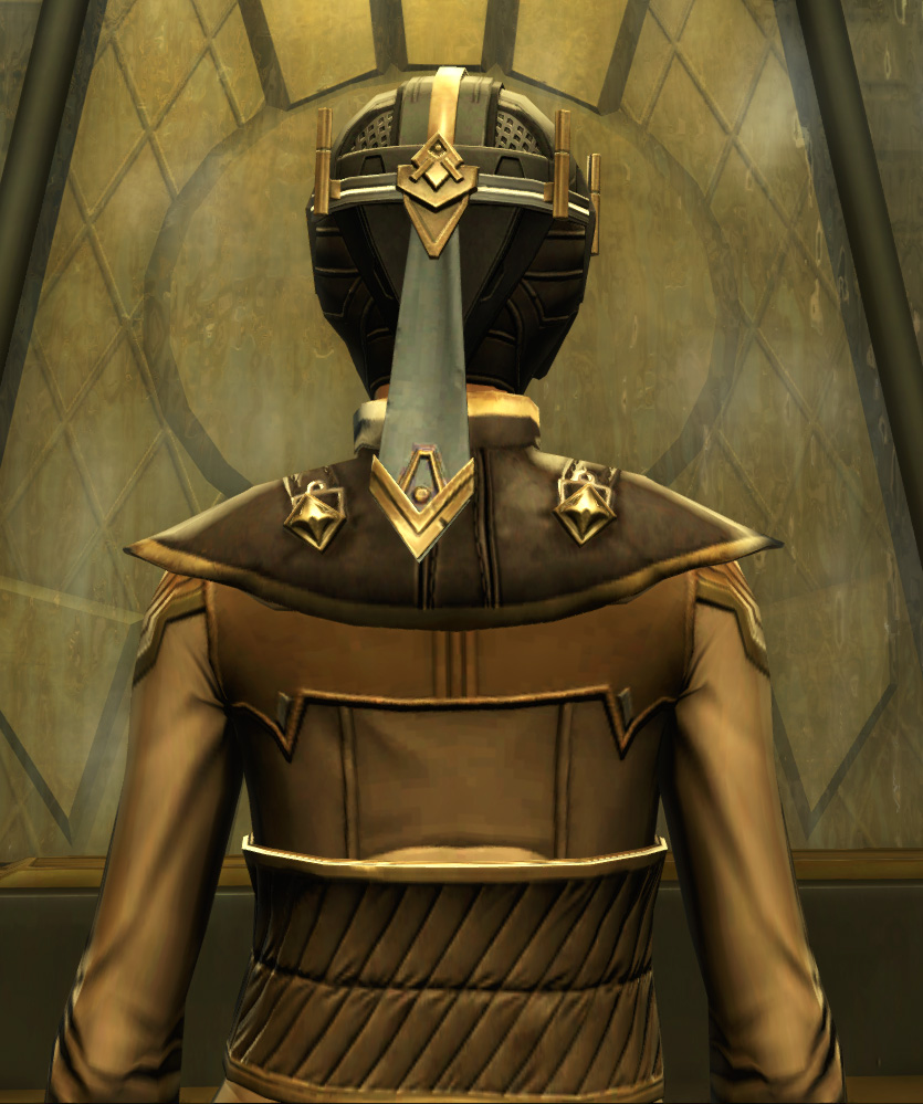 Avenger Armor Set detailed back view from Star Wars: The Old Republic.