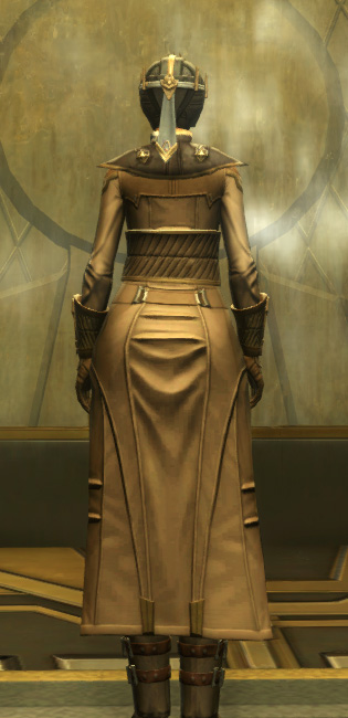 Avenger Armor Set player-view from Star Wars: The Old Republic.