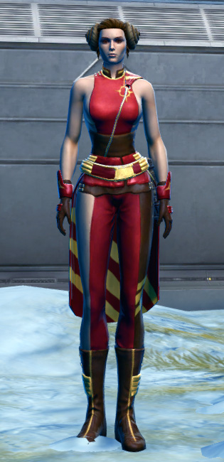 Euphoric Corellian Armor Set Outfit from Star Wars: The Old Republic.