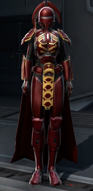 Exarch Asylum MK-26 (Armormech) Armor Set Outfit from Star Wars: The Old Republic.