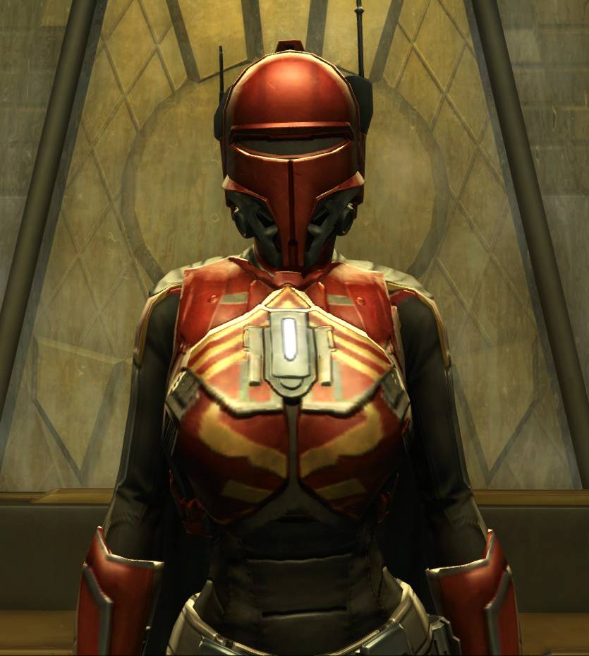 Exarch Onslaught MK-26 (Armormech) Armor Set from Star Wars: The Old Republic.