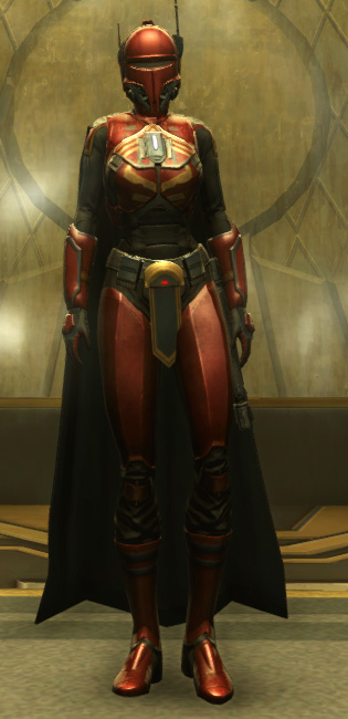 Exarch Onslaught MK-26 (Armormech) Armor Set Outfit from Star Wars: The Old Republic.