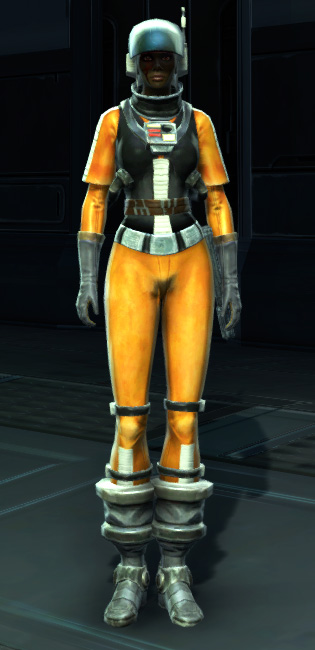 Experimental Pilot Suit Armor Set Outfit from Star Wars: The Old Republic.