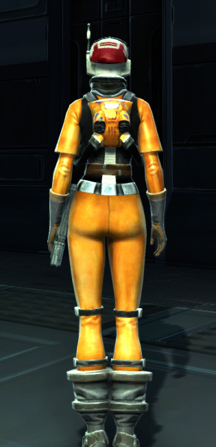 Experimental Pilot Suit Armor Set player-view from Star Wars: The Old Republic.