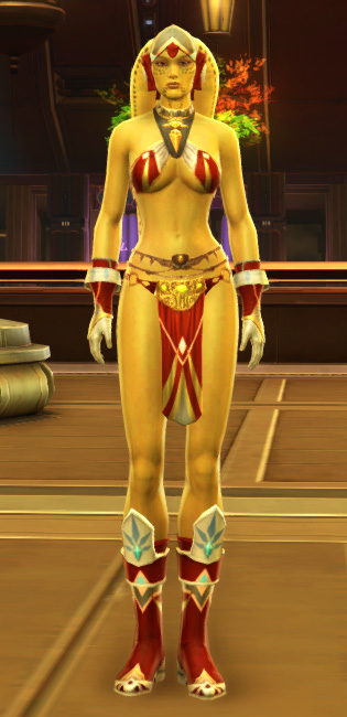 Exquisite Dancer Armor Set Outfit from Star Wars: The Old Republic.