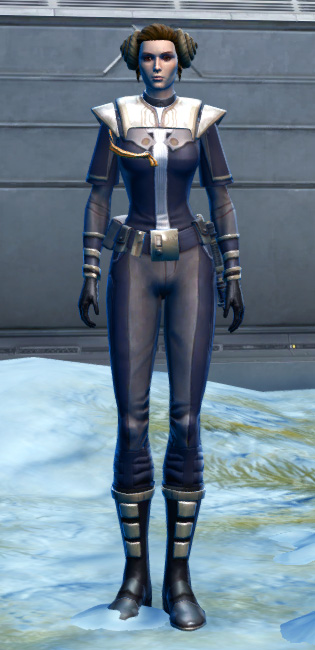 Exquisite Formal Armor Set Outfit from Star Wars: The Old Republic.