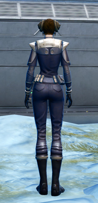 Exquisite Formal Armor Set player-view from Star Wars: The Old Republic.
