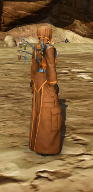 Feast Attire Armor Set player-view from Star Wars: The Old Republic.