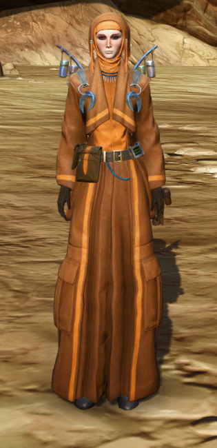 Feast Attire Armor Set Outfit from Star Wars: The Old Republic.