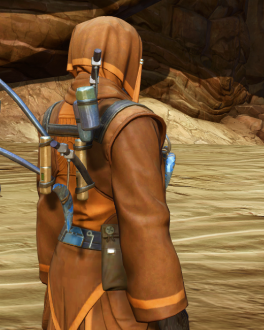 Feast Attire Armor Set Back from Star Wars: The Old Republic.