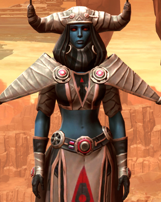 Feral Visionary Armor Set Preview from Star Wars: The Old Republic.