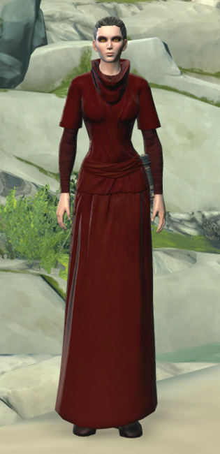 Festive Life Day Robes Armor Set Outfit from Star Wars: The Old Republic.
