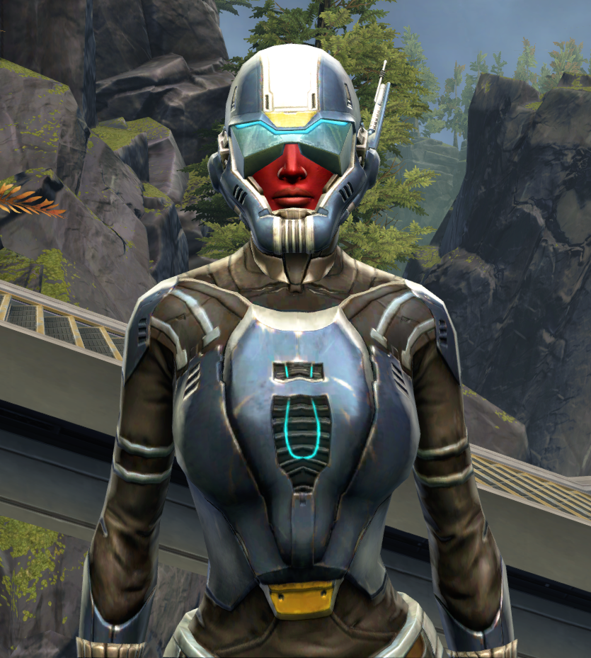 Flawless Riposte Armor Set from Star Wars: The Old Republic.