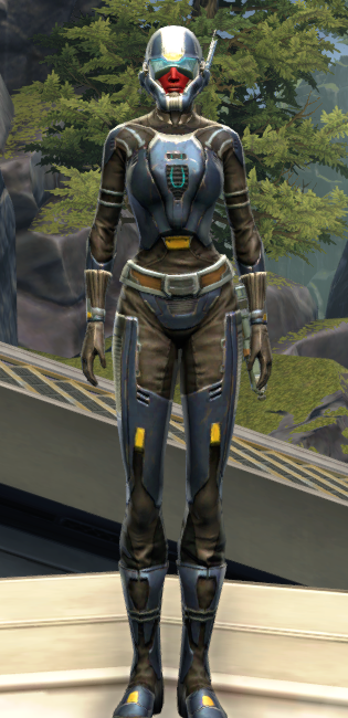 Flawless Riposte Armor Set Outfit from Star Wars: The Old Republic.