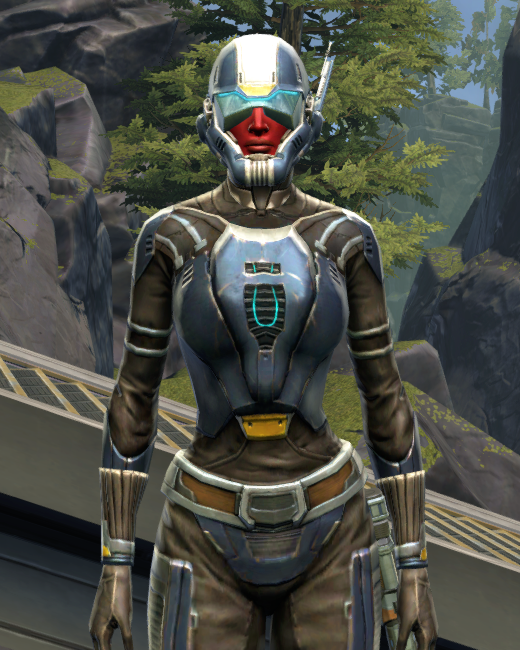 Flawless Riposte Armor Set Preview from Star Wars: The Old Republic.