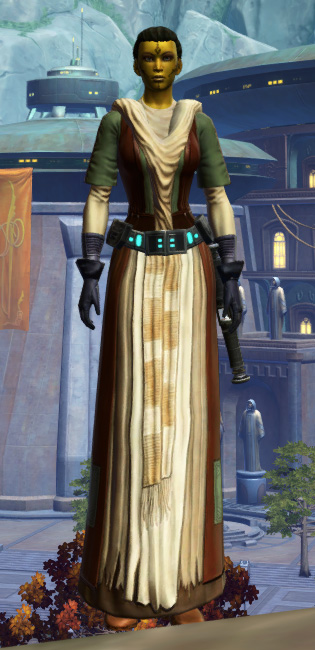 Force Initiate Armor Set Outfit from Star Wars: The Old Republic.