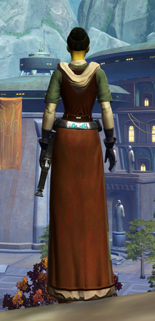 Force Initiate Armor Set player-view from Star Wars: The Old Republic.
