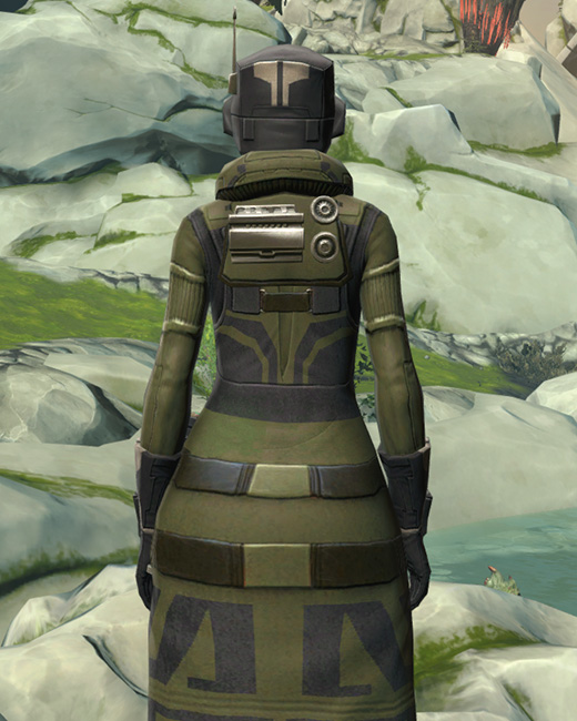 Forest Scout Armor Set Back from Star Wars: The Old Republic.