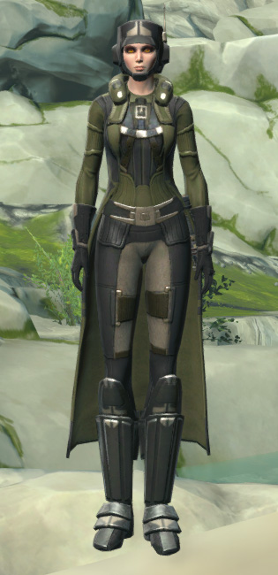 Forest Scout Armor Set Outfit from Star Wars: The Old Republic.