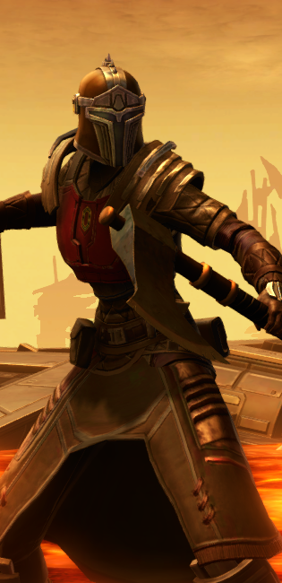 Forgemaster dyed in SWTOR.