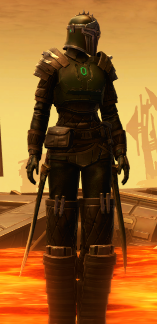 Forgemaster Armor Set Outfit from Star Wars: The Old Republic.