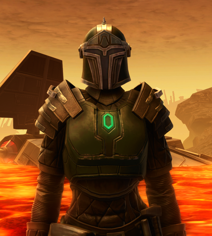 Forgemaster Armor Set from Star Wars: The Old Republic.