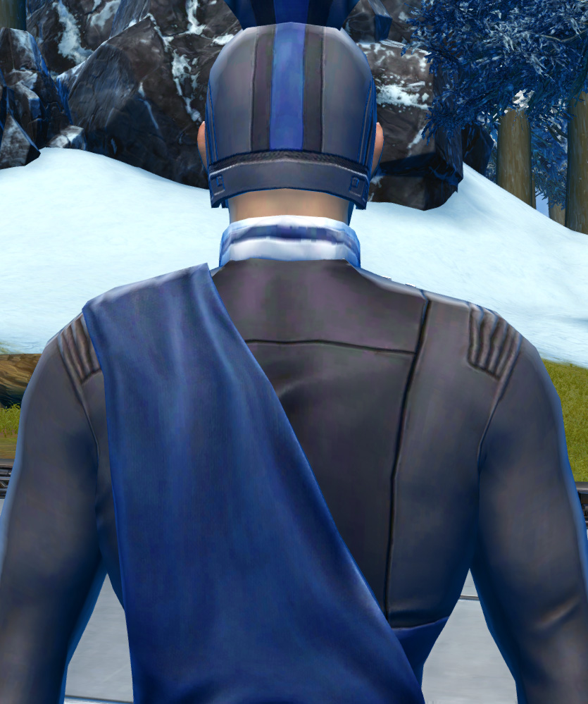 Formal Armor Set detailed back view from Star Wars: The Old Republic.