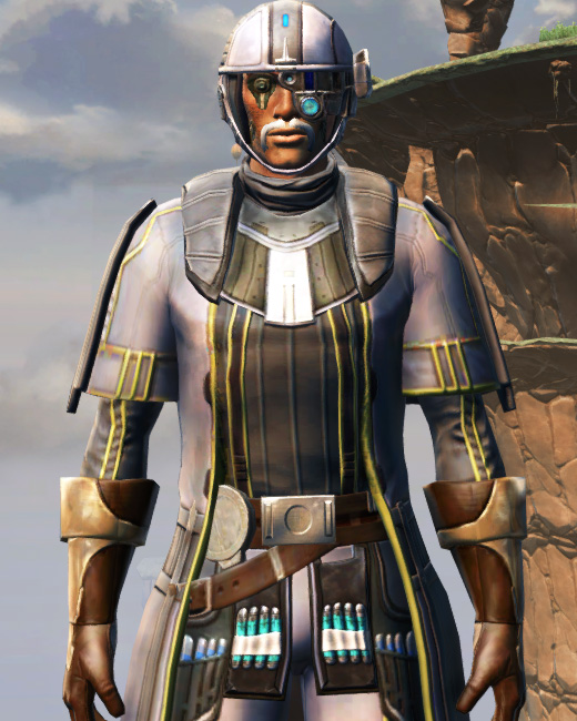 Fortified Lacqerous Armor Set Preview from Star Wars: The Old Republic.