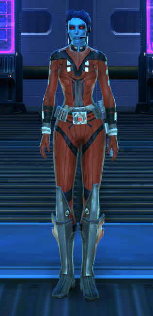 Frasium Onslaught Armor Set Outfit from Star Wars: The Old Republic.