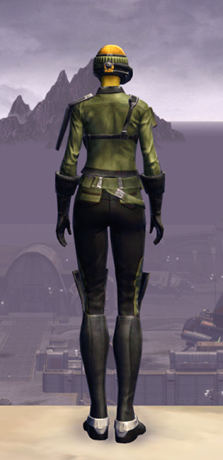 Frasium Onslaught Armor Set player-view from Star Wars: The Old Republic.
