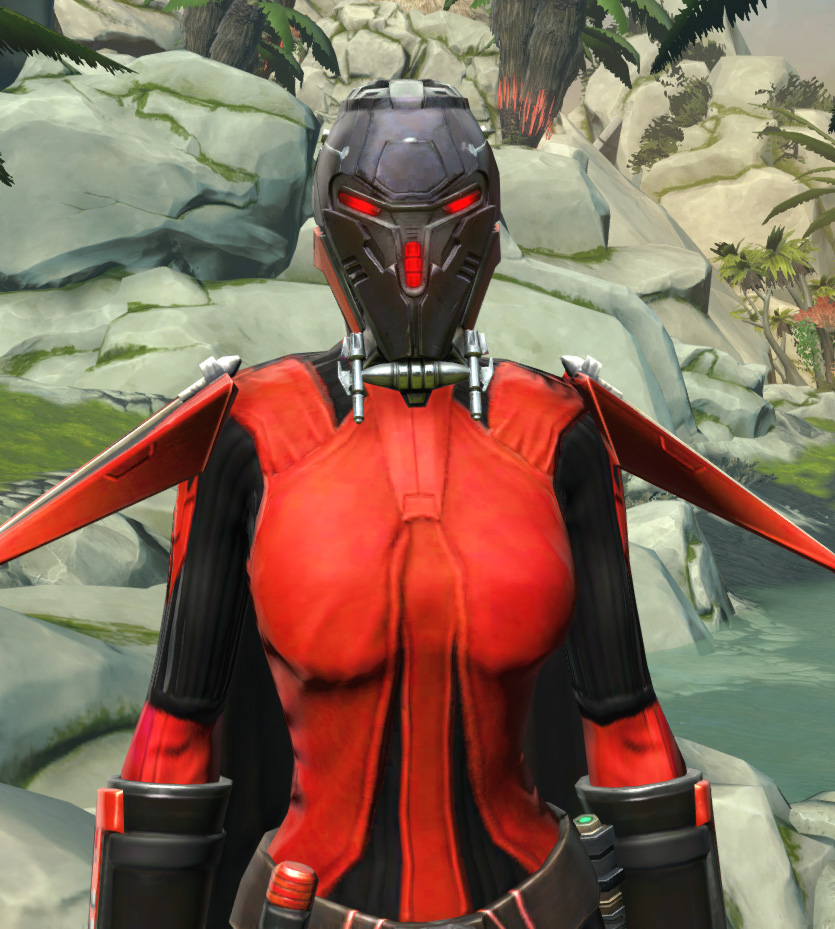 Frenzied Zealot Armor Set from Star Wars: The Old Republic.