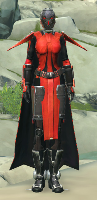 Frenzied Zealot Armor Set Outfit from Star Wars: The Old Republic.