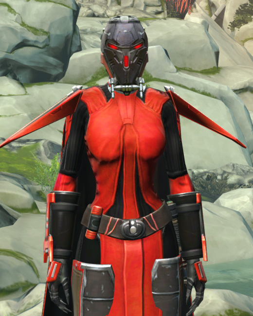 Frenzied Zealot Armor Set Preview from Star Wars: The Old Republic.