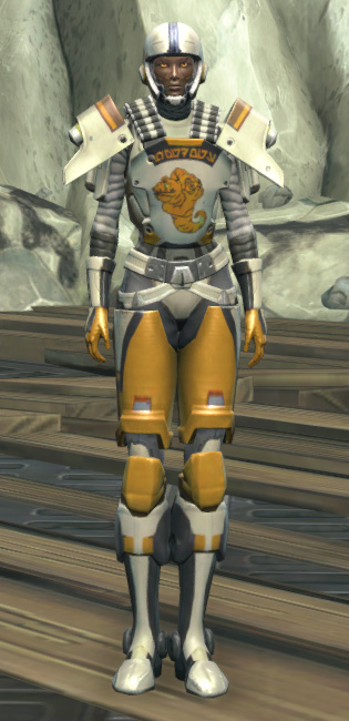 Frogdog Huttball Away Uniform Armor Set Outfit from Star Wars: The Old Republic.