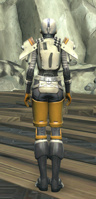 Frogdog Huttball Away Uniform Armor Set player-view from Star Wars: The Old Republic.