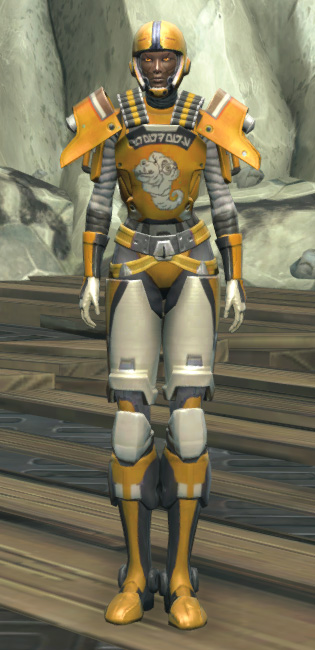 Frogdog Huttball Home Uniform Armor Set Outfit from Star Wars: The Old Republic.