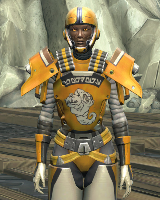 Frogdog Huttball Home Uniform Armor Set Preview from Star Wars: The Old Republic.