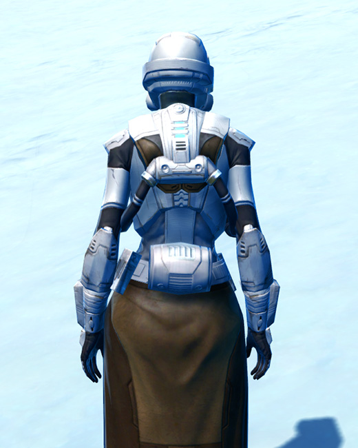 Frontline Defender Armor Set Back from Star Wars: The Old Republic.
