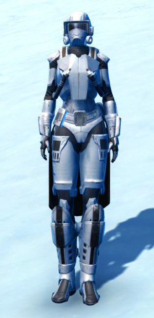 Frontline Defender Armor Set Outfit from Star Wars: The Old Republic.