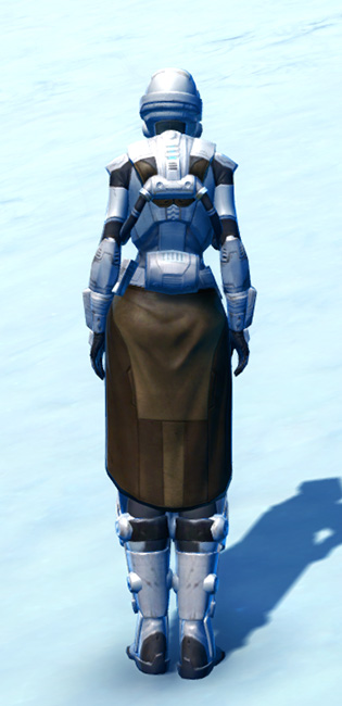 Frontline Defender Armor Set player-view from Star Wars: The Old Republic.
