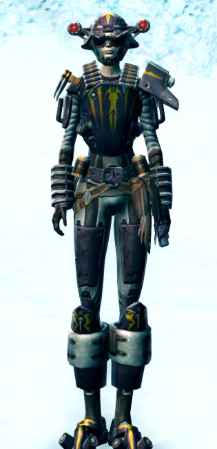 Frontline Mercenary Armor Set Outfit from Star Wars: The Old Republic.