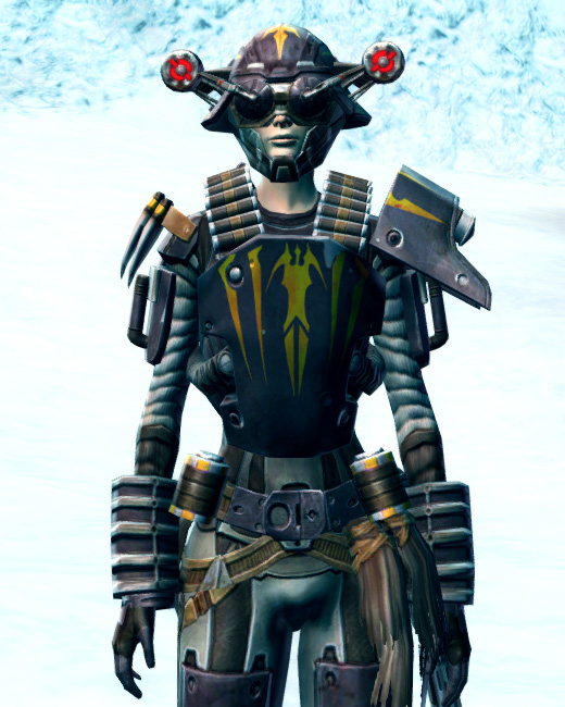 Frontline Mercenary Armor Set Preview from Star Wars: The Old Republic.