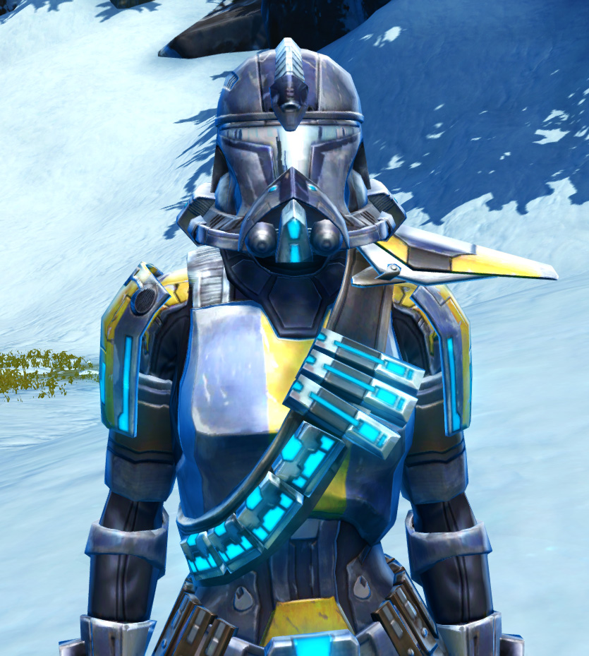 Galvanized Infantry Armor Set from Star Wars: The Old Republic.