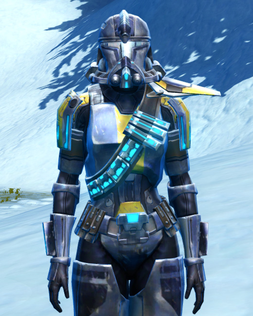 Galvanized Infantry Armor Set Preview from Star Wars: The Old Republic.