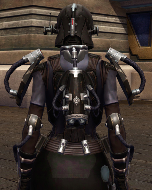 Game Plan Armor Set Back from Star Wars: The Old Republic.