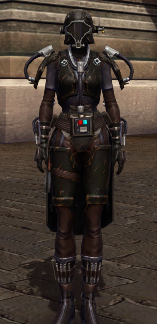 Game Plan Armor Set Outfit from Star Wars: The Old Republic.